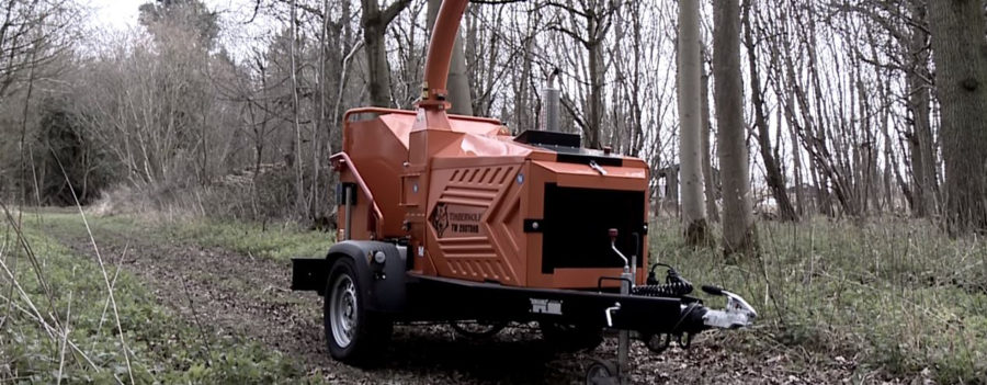 Timberwolf TW 280TDHB Road Tow Wood Chipper - video image