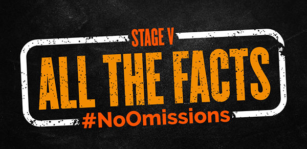 All the Facts No Omissions Logo