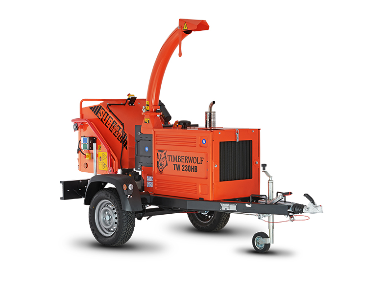 Timberwolf TW 230HB Diesel Road Tow Wood Chipper